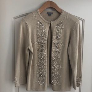 Ann Taylor Holiday Cardigan